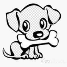 easy puppy clipart cute dog drawing