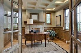 photo an area rug warms up a home office and makes it a comfortable place to spend each day