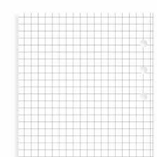 Filofax Fogli Per Appunti A5 A Quadretti Colore Bianco Eur 17