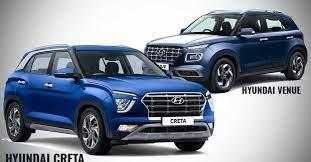 Hyundai Venue Vs Creta What Does The Extra Inr 3 Lakh Get You Hyundai New Hyundai Venues