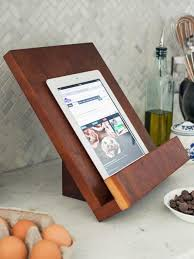 how to make a modern tablet or cookbook stand easy crafts and homemade decorating gift ideas