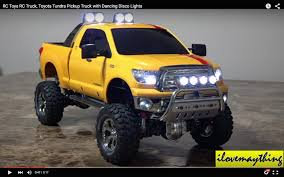 RC Toyota Tundra Pickup Truck Has Disco Lights, Nostalgia Kicks In ...
