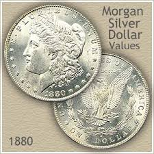 Us Silver Coin Chart 1880 Morgan Silver Dollar Value Discover Their Worth