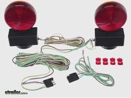 maxxtow magnetic tow lights installation video etrailer com utility trailer lights wiring diagram Towing Lights Wiring Diagram #25