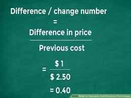 Invoice Price Calculator The Easiest Way To Calculate Cost Increase Percentage Wikihow
