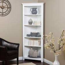 living room corner bookcase