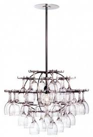 wine glass chandelier foter with regard to incredible residence wine glass chandelier decor