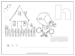 spongebob worksheets lowercase h JPG