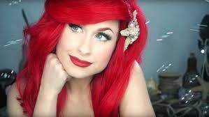 disney s little mermaid ariel makeup tutorial