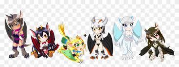anime chibi dragon. Fine Chibi Winged  Chibi Anime Dragon Girl To B