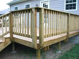 diy deck railing designs ideas