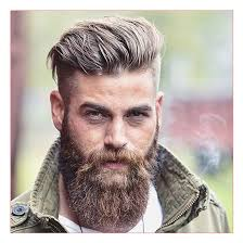 Super Short Hairstyles For Men Together With Square Beard And