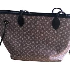 non leather handbag louis vuitton neverfull pink fuchsia light pink
