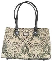 Paisley Bag Designer Bag Paisley Design Green Tote