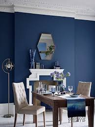 marks and spencer blue dining room