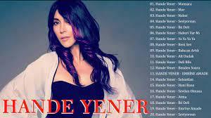 Hande Yener En iyi şarkı ☘️ Hande Yener albüm 2020 ☘️ Hande Yener En  popüler 20 şarkı - YouTube