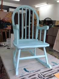 child rocking chair love refinished img painted after covered with annie sloan chalk paint pure mixed