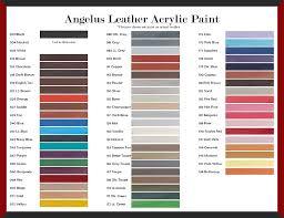 Angelus Acrylic Leather Paint 1 Oz