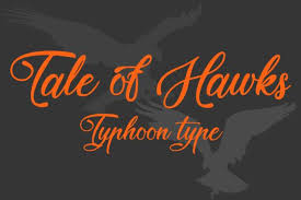 Urbanfonts features an amazing collection of free fonts, premium fonts and free dingbats. Tale Of Hawks Font By Typhoon Type Suthi Srisopha Creative Fabrica Best Free Fonts Online Fonts Script Fonts