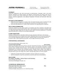 Objective Statements For Resumes Examples Objective Administrative Gorgeous Objective Statement For Resumes