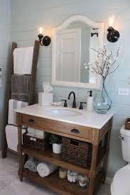 Beach Style Bathroom Adorable Sink With Open Shelves Brian Flanagan Flanaganr Beach Themed