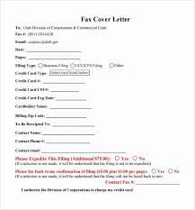 Example Fax Cover Letters Fax Cover Letter Example Lovely 8 Sample Fax Cover Letters