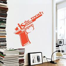 Small Picture Ome Decor Wall Sticker Art Design Vinyl Wall Sticker Education Is