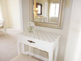 stenciling furniture ideas. This Was The First Piece Of Furniture I Ever Stenciled. Would Usually Just Paint Or Refinish A Piece, But With Small Vanity Table, Decided To Try Stenciling Ideas E