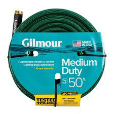 dia x 50 ft medium duty water hose