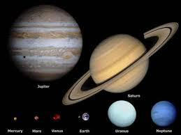 saturn s size jupiter saturn mercury mars venus moon earth uranus neptune