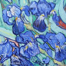 irises van gogh google search