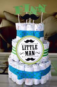 cute baby shower ideas for a boy white