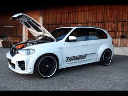 Sport Series bmw power wheel : 2010 G-Power BMW X5 Typhoon RS - Front And Side Open Hood ...