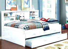 Queen Platform Bed With Trundle Queen Trundle Bed Frame Queen Bed ...