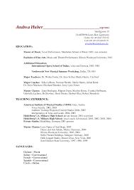 Academic Resume Sample High School Najmlaemah Com