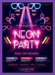 glow flyer 25 best glow party flyer psd templates free premium designyep