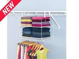 closet shelf and hang unit shelving organization rubbermaid rack instructions