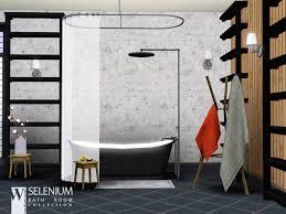selenium bathroom on the sims resource sims 3 wall art with wondymoon s selenium bathroom