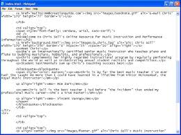 Html Quote Simple Easy Web Design Demystifying Basic HTML