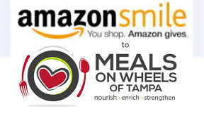 amazon smile logo with ours - Meals On Wheels of Tampa