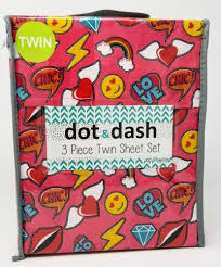 girls twin sheet set dot dash girls twin sheet set pink ivy yvonne love emoji diamond