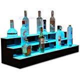 Bar Bottle Display Stand Amazon Bottle Shelf 100 Tier LED Lighted Liquor Bottle 86