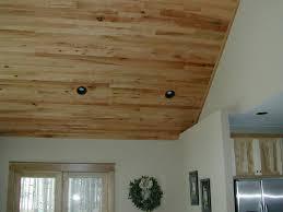 red oak ceiling