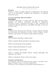 Example Of Ability Resume Skills And Abilities Examples Necessary