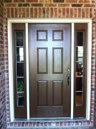 steel vs fiberglass exterior door fiberglass exterior doors