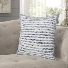 gracie oaks mulder cotton throw pillow