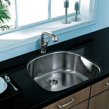 24 inch sink. Beautiful Sink Shop VIGO 24inch Undermount Stainless Steel 18 Gauge Single Bowl Kitchen  Sink  On Sale Free Shipping Today Overstockcom 2078911 Intended 24 Inch