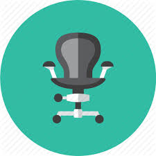 office chair icon. Chair, Office Icon Chair