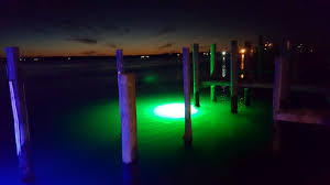 Dock Lights Marine Underwater Dock Lights By Illumisea Lighting Up The Water At