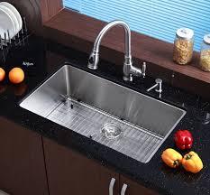 kraus stainless steel sinks. Beautiful Kraus Kraus KHU10032 32 Inch Undermount Single Bowl 16 Gauge Stainless Steel  Kitchen Sink  ExpressDecorcom Throughout Sinks E